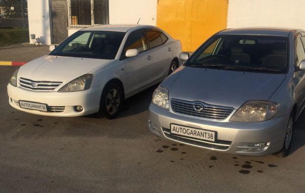 Toyota Corolla 2001 и 2003